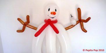 bonhomme de neige 974