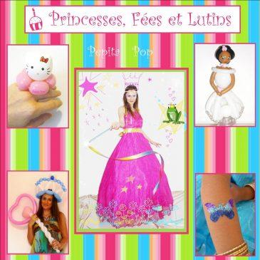 Anniversaire Princesses, Fées et Magiciens