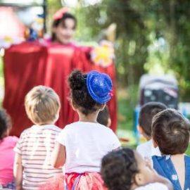 Creche marionnettes et magie